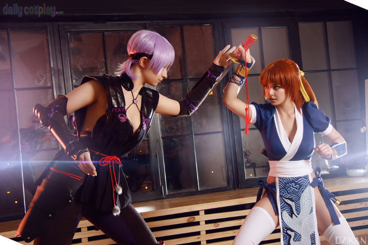 Kasumi vs Ayane from Dead or Alive 5