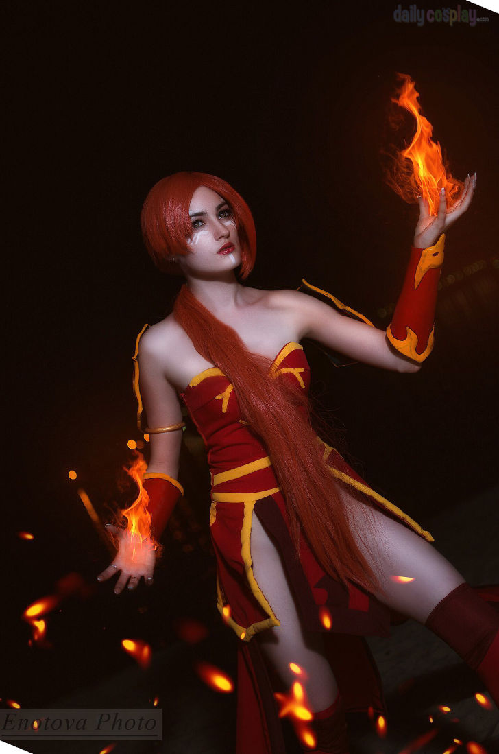 Lina from Dota 2