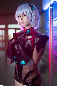 Rei Ayanami from Neon Genesis Evangelion