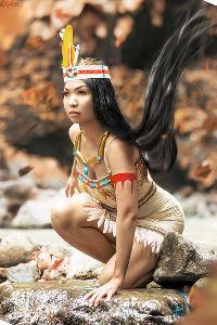 Pocahontas from Disney's Pocahontas