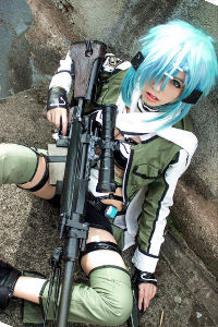 Sinon from Sword Art Online 2