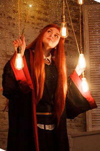Lily Potter (ne Evans) from Harry Potter