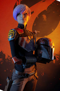 Sabine Wren (Starbird) from Star Wars Rebels