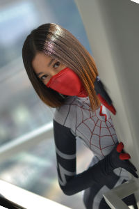 Silk from Marvel Comics