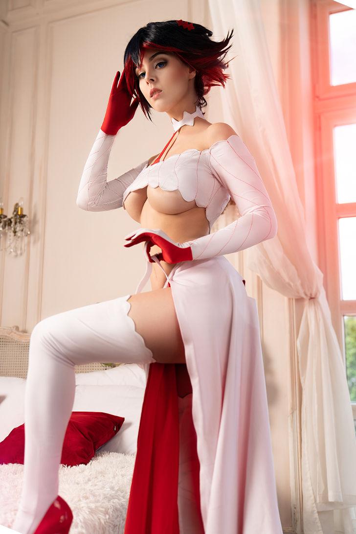 Bride Ryuko from Kill la Kill