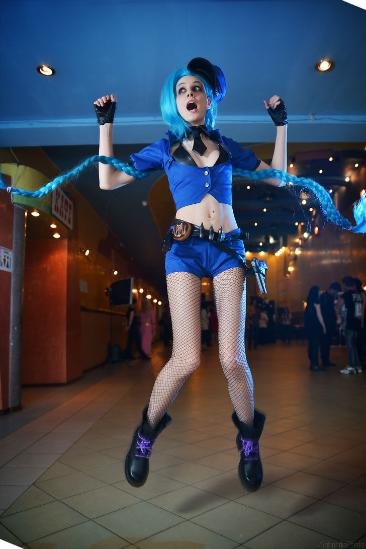 Officer Jinx from League of Legends