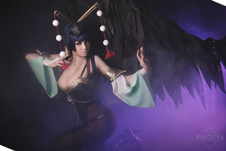 Nyotengu from Dead or Alive 5