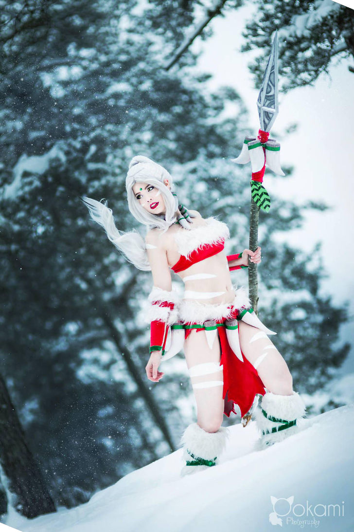 Snow Bunny Nidalee from League of Legends