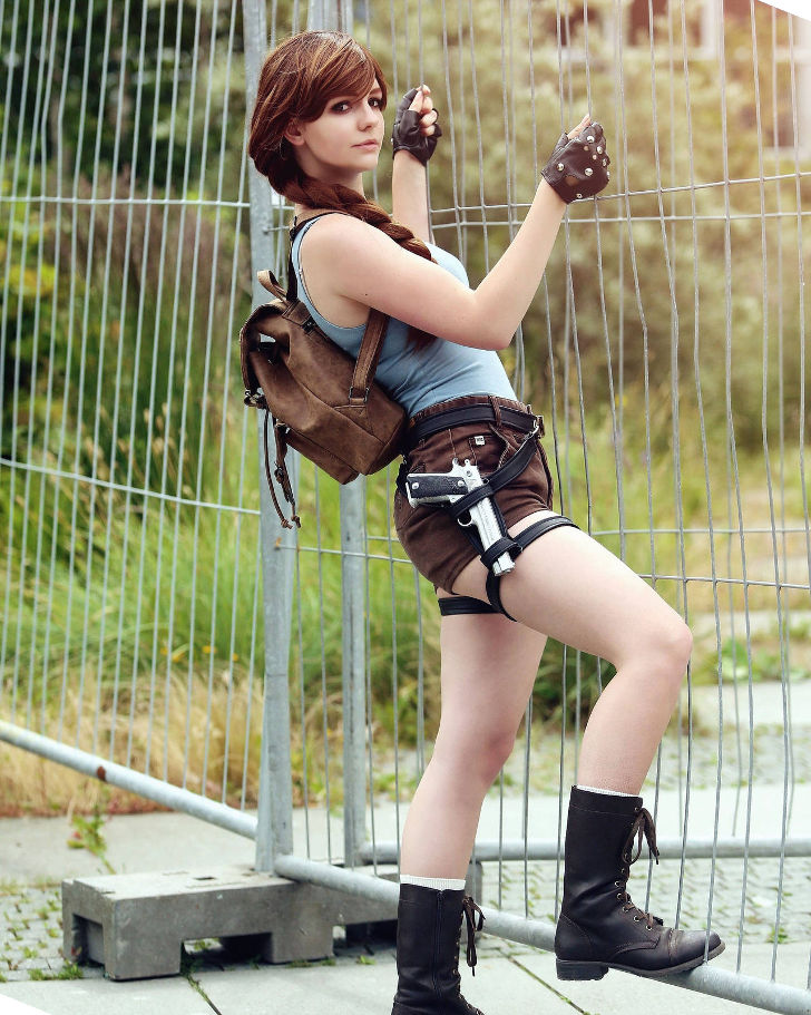 Lara Croft from Tomb Raider Anniversary