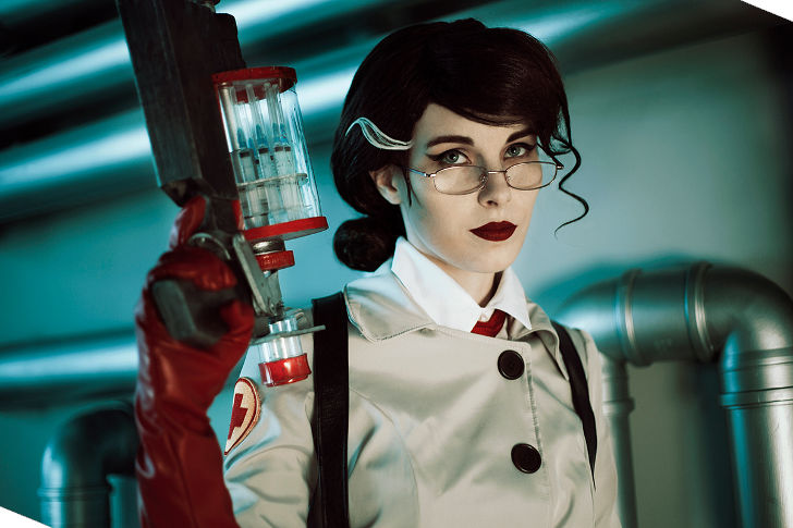 Female Medic from Team Fortress 2