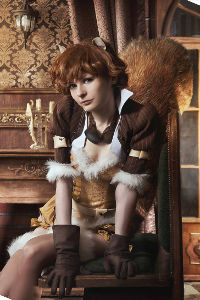Steampunk Squirrel Girl from Marvel Comics