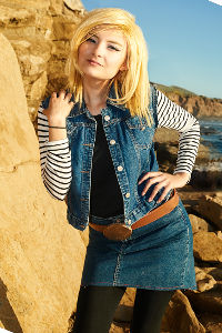 Android 18 from DragonBall-Z
