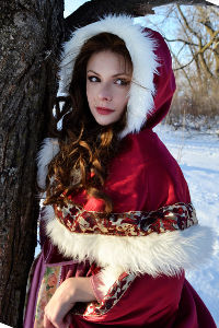Winter Belle from Beauty and the Beast