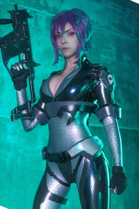 Motoko from Ghost in the Shell