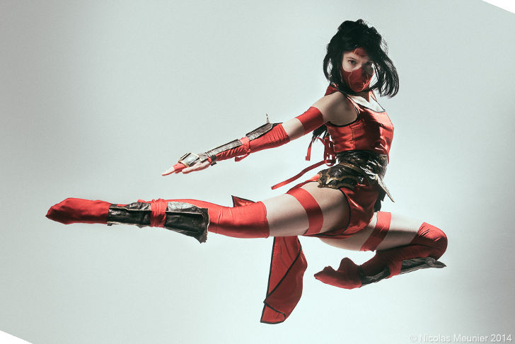 Crimson Akali from League of Legends