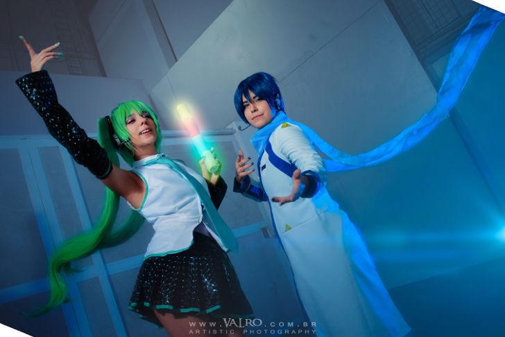 Miku & Kaito from Vocaloid
