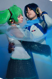 Miku & Kaito from Vocaloid