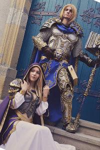 Jaina Proudmoore & Arthas Menethil from Warcraft