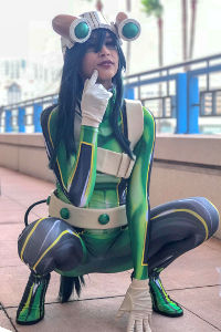 Froppy from My Hero Academia