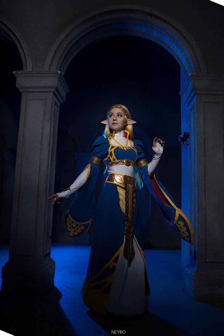 Princess Zelda from The Legend of Zelda: Breath of the Wild