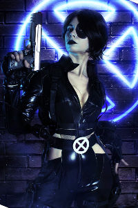 Domino from Marvel Comics
