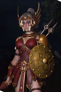 Amazon Cassia from Heroes of the Storm