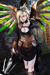 Steampunk Mercy from Overwatch