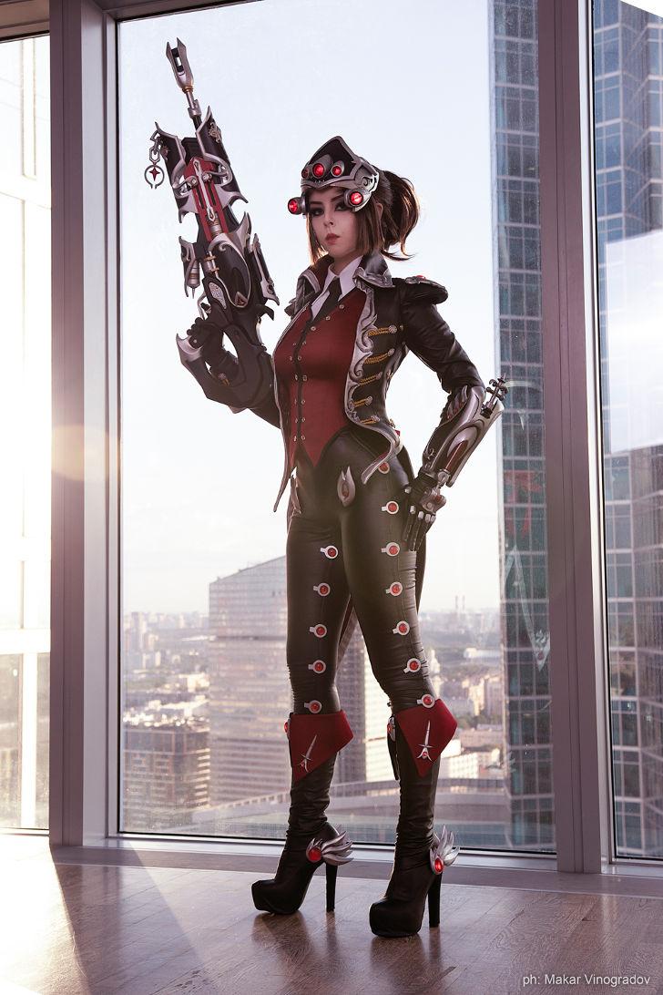 Widowmaker Huntress from Overwatch