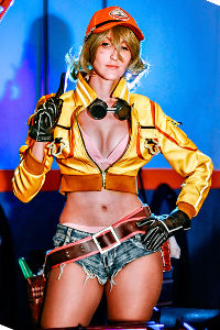 Cindy from Final Fantasy XV