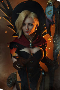 Witch Mercy from Overwatch