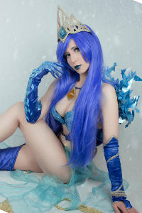 Frostqueen Janna from League of Legends