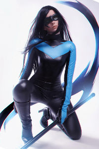 Fem Nightwing from DC Comics