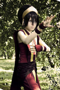 Fire Nation Toph from Avatar: The Last Airbender