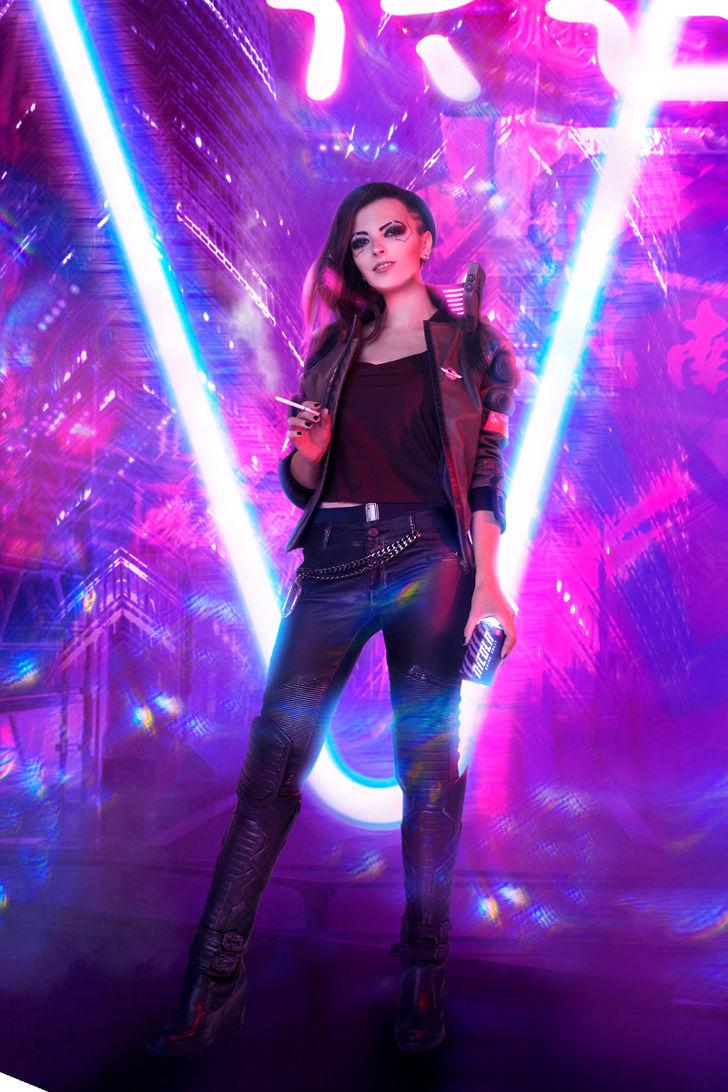 V from Cyberpunk 2077