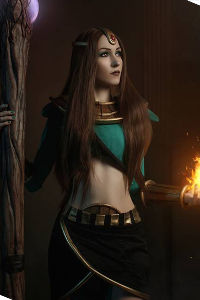 Sorceress from Diablo 2