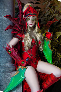 Valeera Sanguinar from World of Warcraft