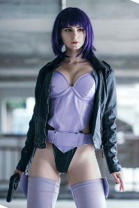 Major Motoko Kusanagi from Ghost in the Shell
