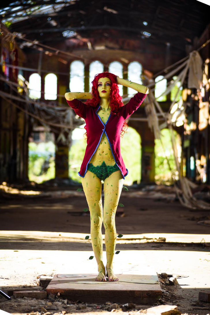 Poison Ivy from Arkham Asylum