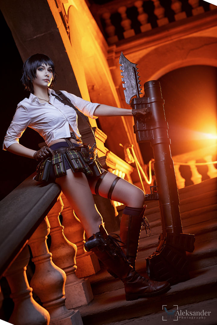 Lady from Devil May Cry 3