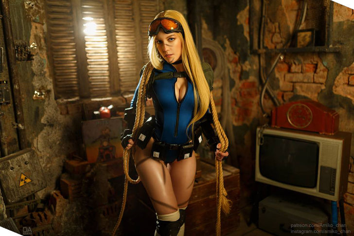 Cammy from Street Fighter 5