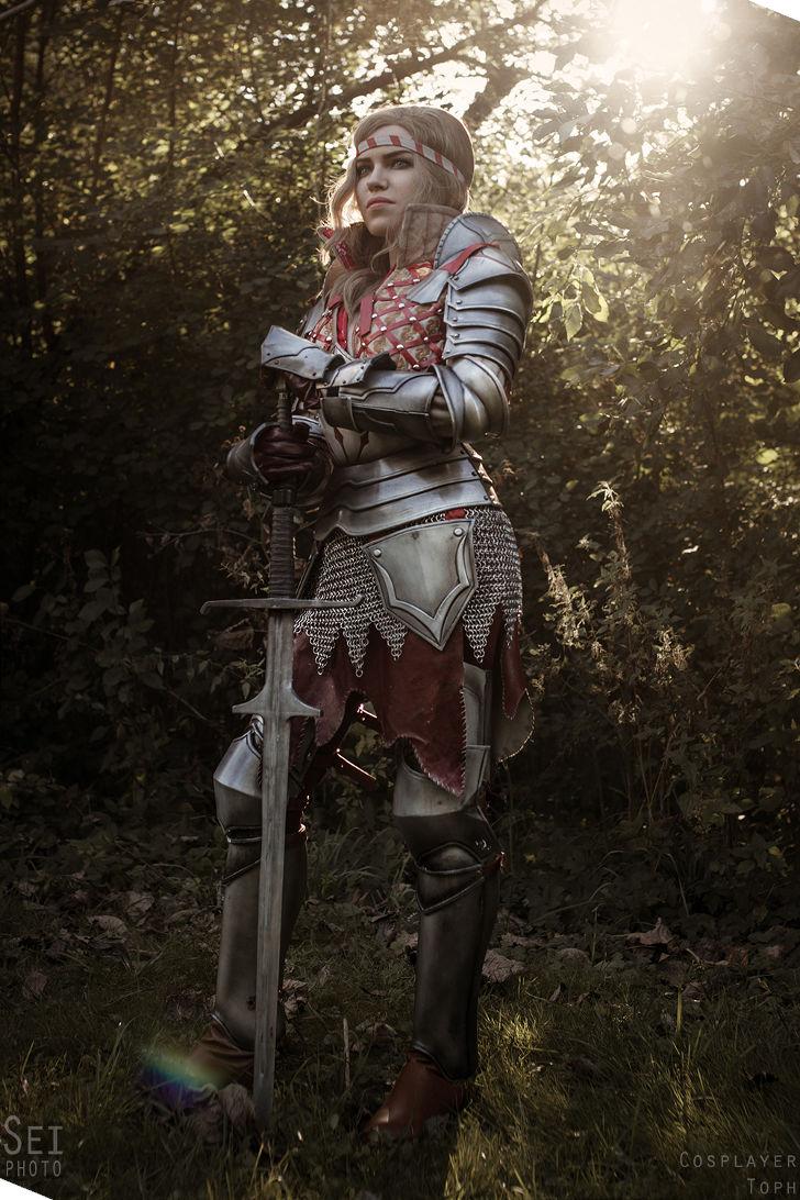 Saskia from The Witcher