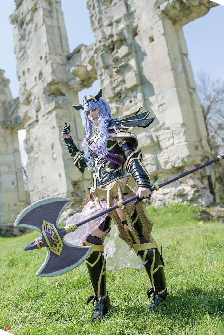 Malig Master Camilla from Fire Emblem Warriors
