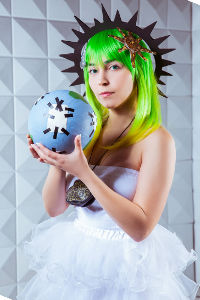 Goddess Gumi from Vocaloid