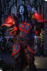 Draenei Hunter from World of Warcraft