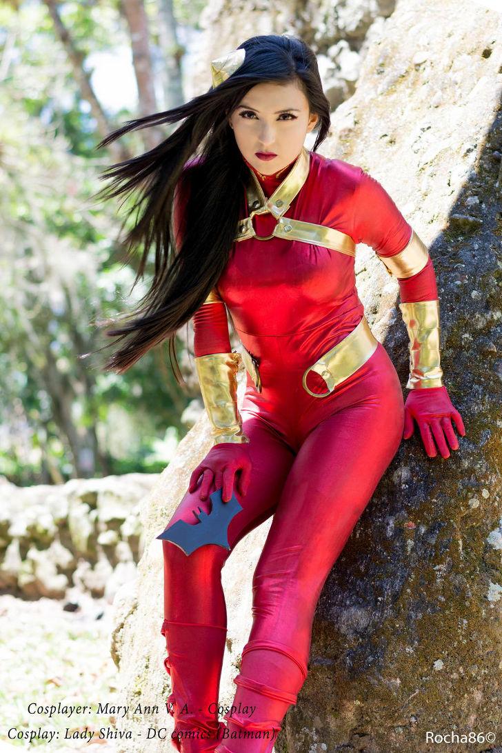 Lady Shiva from DC Comics