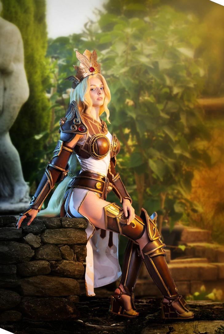 Athena from SMITE