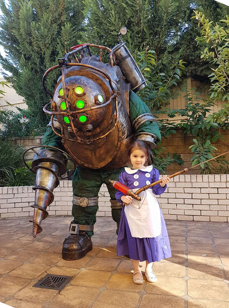 Big Daddy & Little Sister from Bioshock