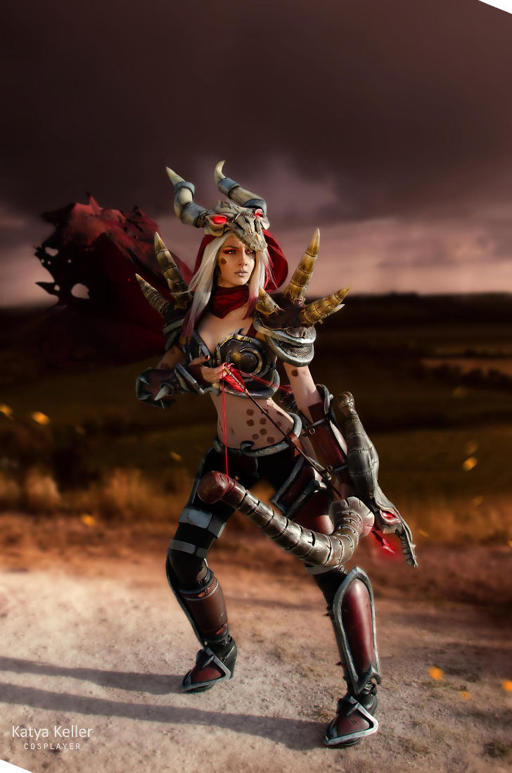 Blood Raven Sylvanas from Heroes of the Storm