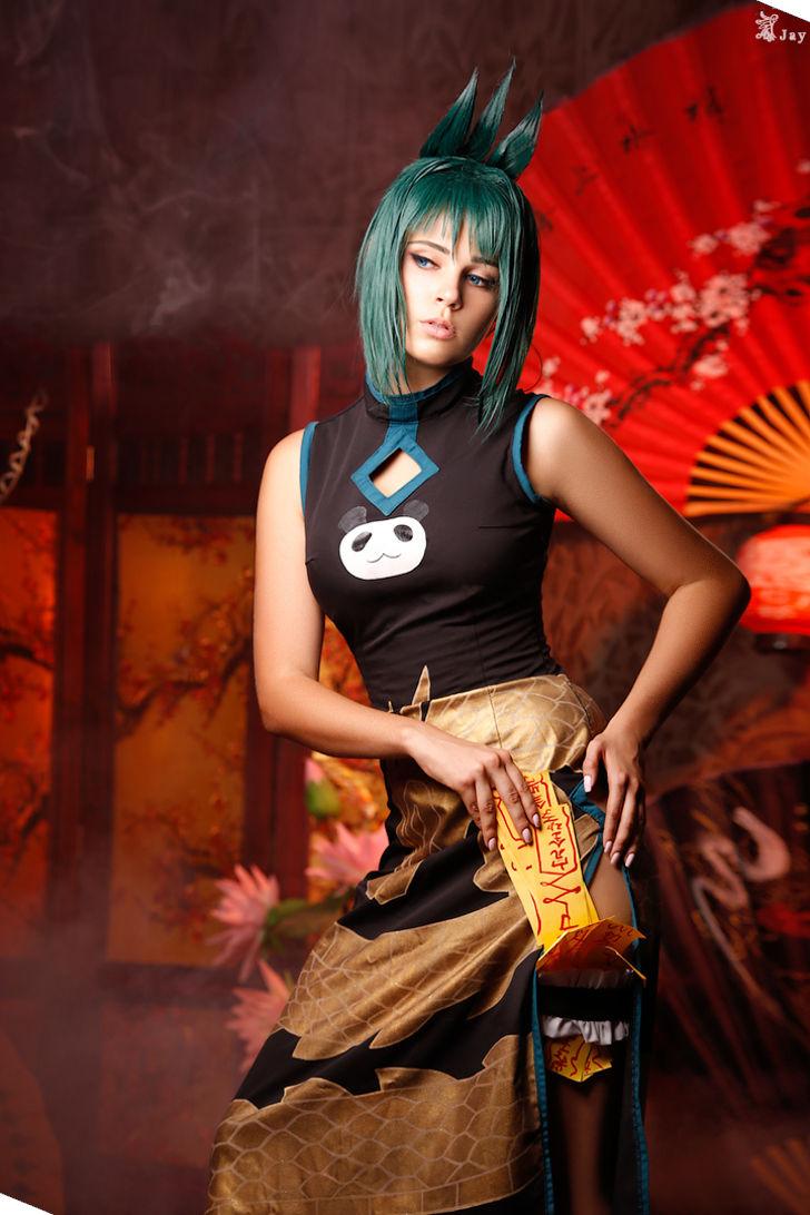 Jun Tao from Shaman King