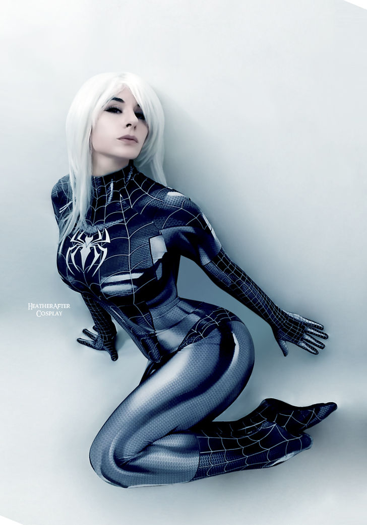 Black Cat Symbiote from Spider-Man